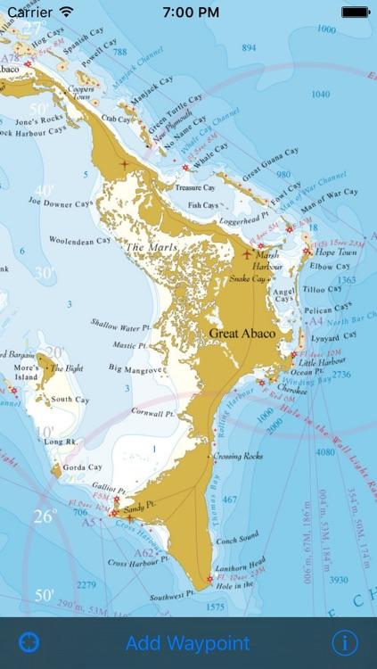 Marine Bahamas WaveyLine