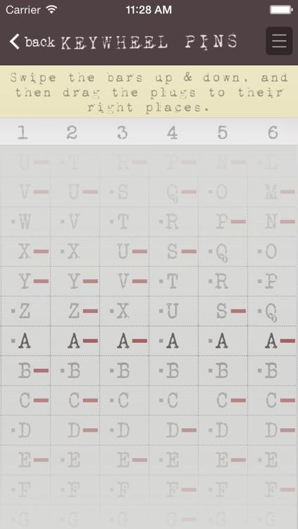 Mini209: M-209 cipher machine simulator screenshot-3