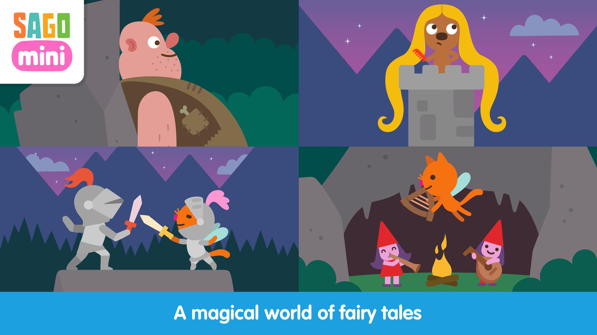 Sago Mini Fairy Tales TV screenshot 3