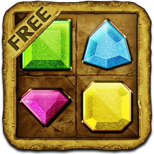 Temple Gems Treasure Free icon
