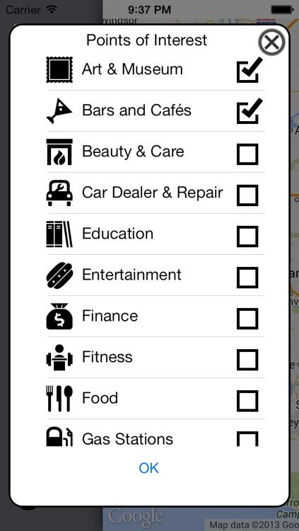 gMaps Browser screenshot-3