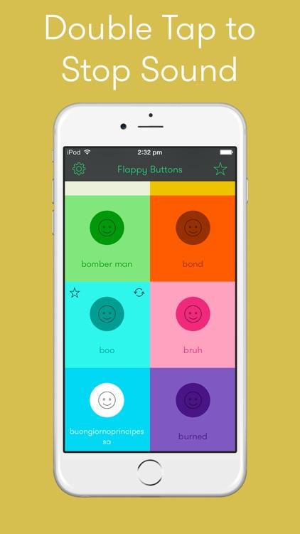 Flappy Buttons screenshot-3
