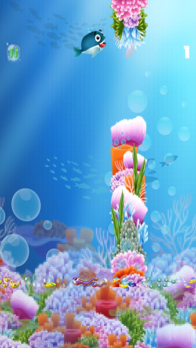ゆるい - フィンクジラゲーム A Flappy-Fins Whale Gameのおすすめ画像4