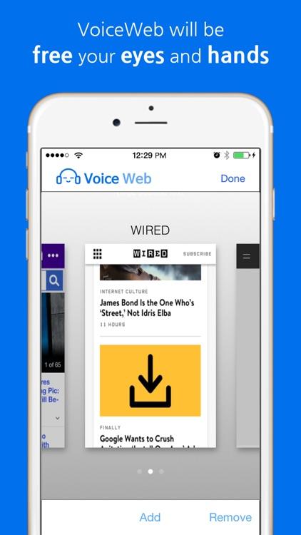 VoiceWeb by RunNGunSoft