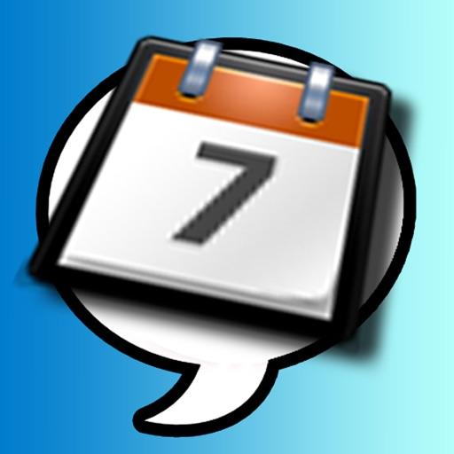 Count down calendar events