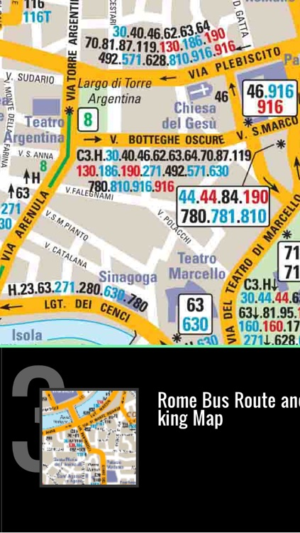 Rome Map offline - Your ultimate Italy Roma Pocket Travel Guide with offline ATAC Rome Metro Map, Rome Bus Routes Map, Trenitalia, Rome Maps,Rome Street maps screenshot-3