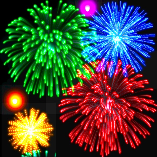 Real Fireworks Artwork Visualizer 4-in-1 HD 2014 - Play Awesome Light Show, Enjoy Fun Visuals, Make Cool Pictures for Instagram and Draw Amazing Art with Colors & Glow