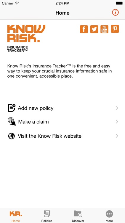 Know Risk Insurance Tracker