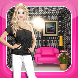 Dress Up World™ 3-in-1 Makeover, Decorating, and Fashion Game for Girls