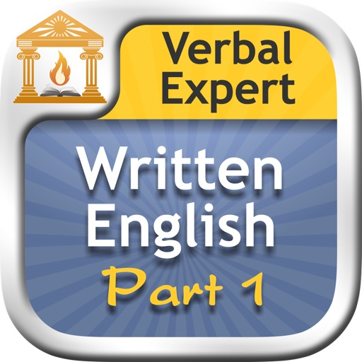 Verbal Expert : Written English Part 1 FREE