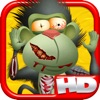 My Animal Zombies and Friends Climb Banana Town Hill HD - FREE Game !