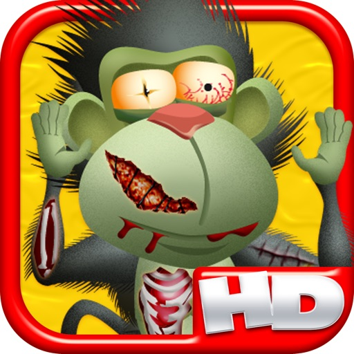 My Animal Zombies and Friends Climb Banana Town Hill HD - FREE Game ! icon