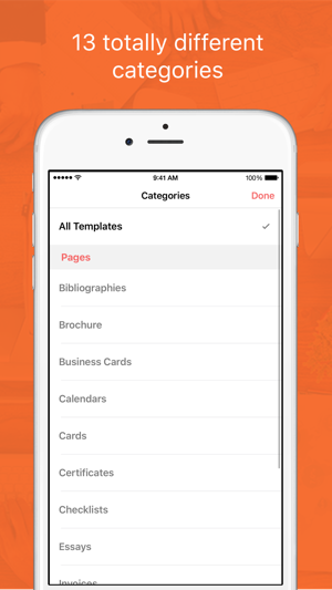 Templates for Pages Pro on the App Store