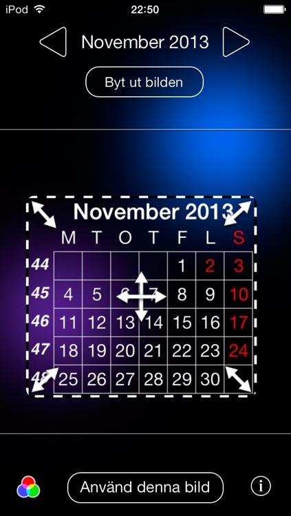 Kalender på låsskärmen screenshot-3