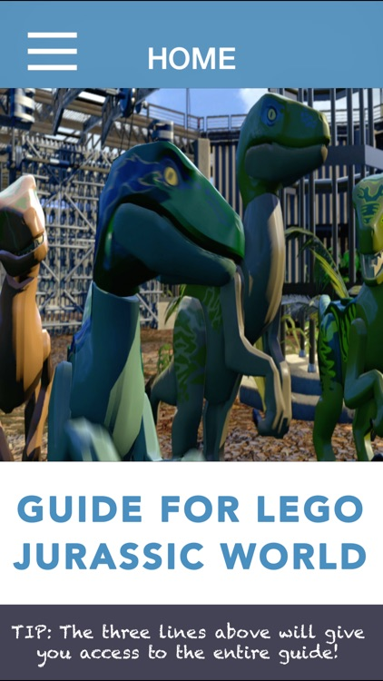 Gamer Guide For Lego Jurassic World screenshot-0