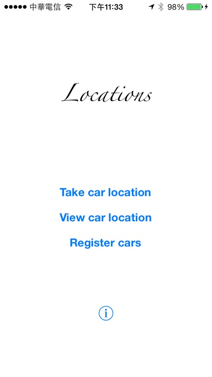 Car Locations
