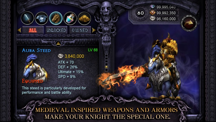 Apocalypse Knights - Endless Fighting with Blessed Weapons and Sacred Steeds screenshot-4