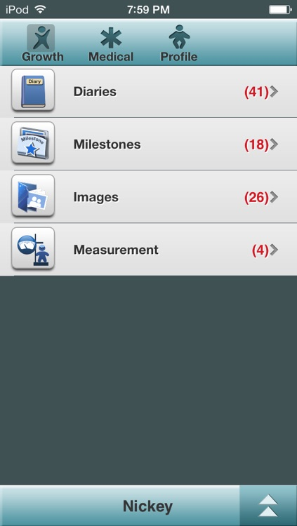 Baby Log Lite - Activities, Growth and Milestones screenshot-4