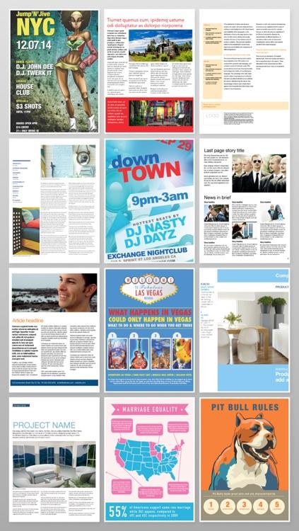 Brochureware for Pages screenshot-3