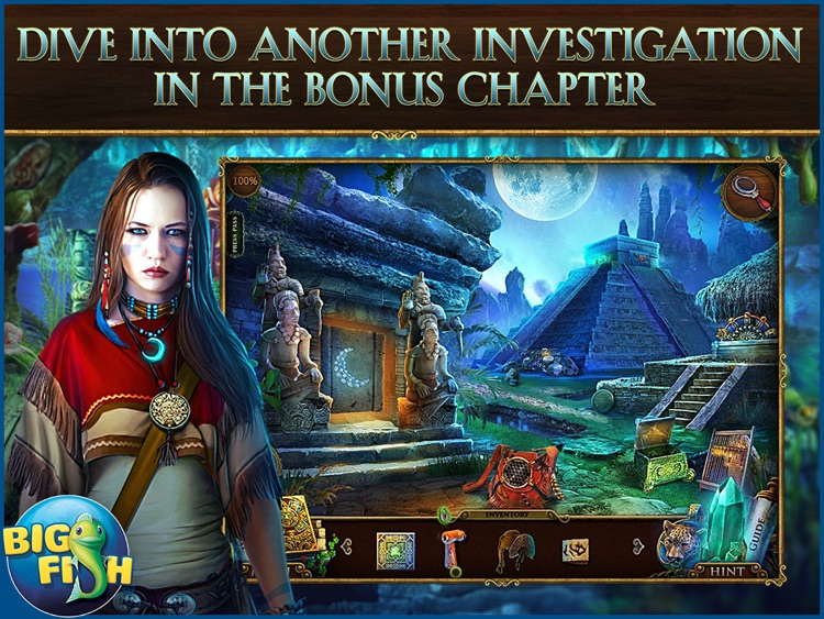 Mayan Prophecies: Blood Moon HD - A Hidden Object Adventure (Full) screenshot-3