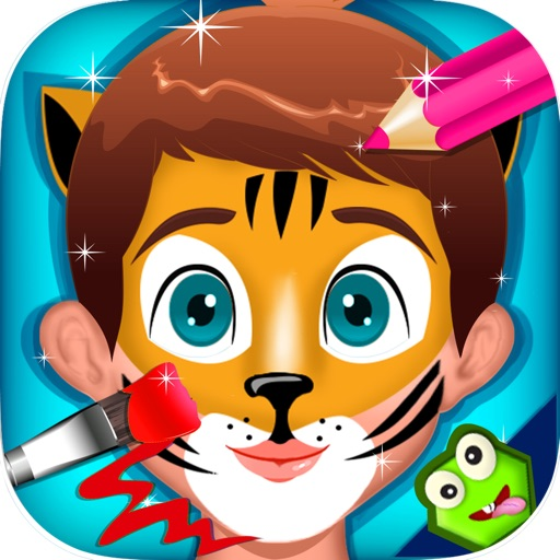 Baby Face Paint - Makeover Games for Kids