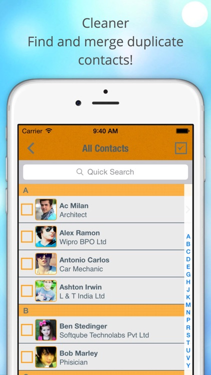 ContactManager – Remove & Merge Duplicate Contacts