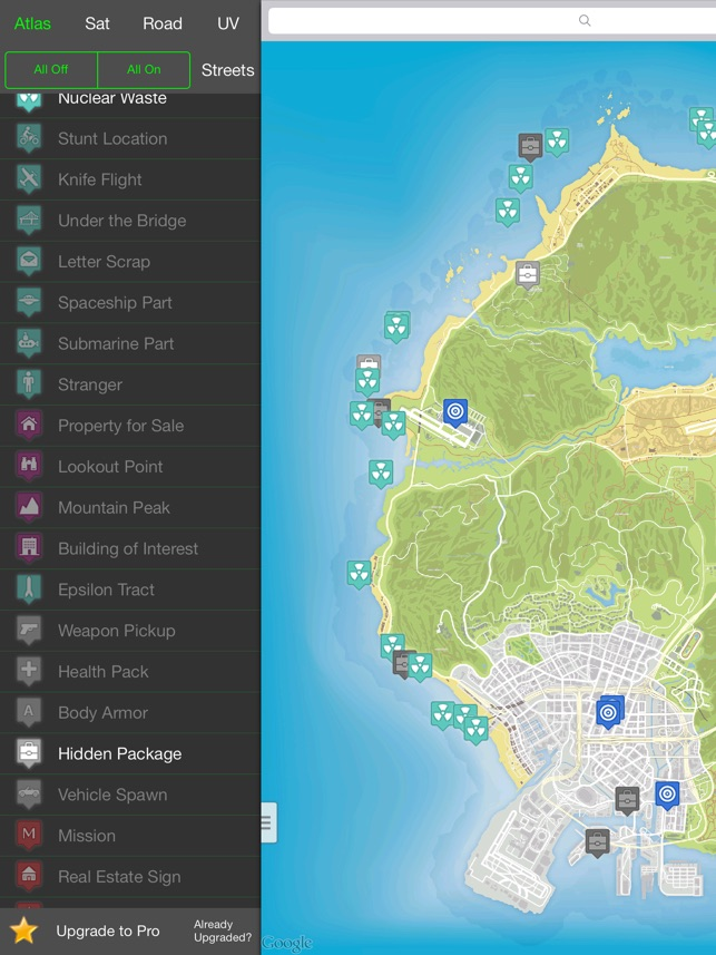 Interactive Map for GTA 5 - Unofficial on the App Store