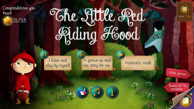 Little Red Riding Hood : ShinyTales screenshot-0