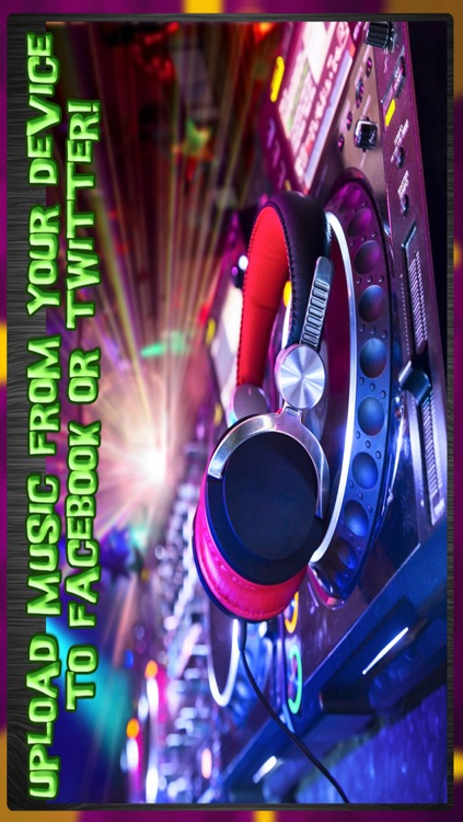 Micro DJ 2 Free - Party music audio effects and mp3 songs editing