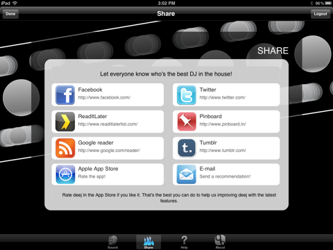 iDJ2GO screenshot