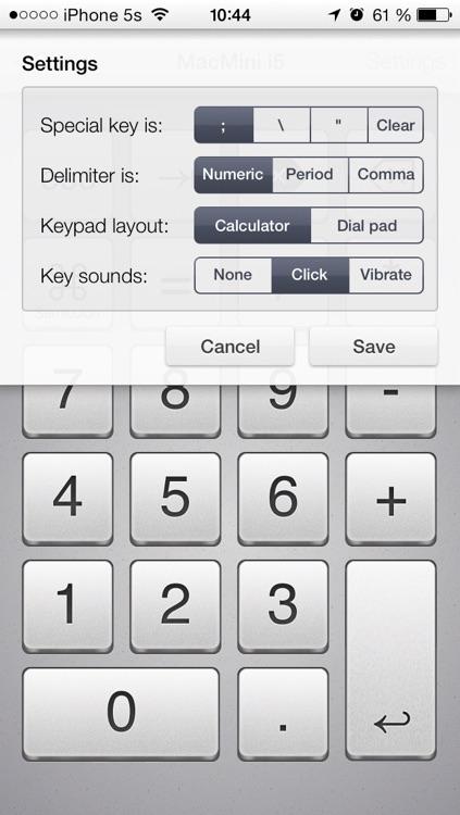 NumPad Remote - Wireless numeric pad screenshot-4