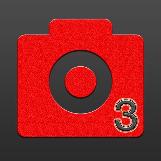 Selfie App Icon Automatic - Selfie Cam Shooter Auto launched via an app icon with timer & Photo Editor