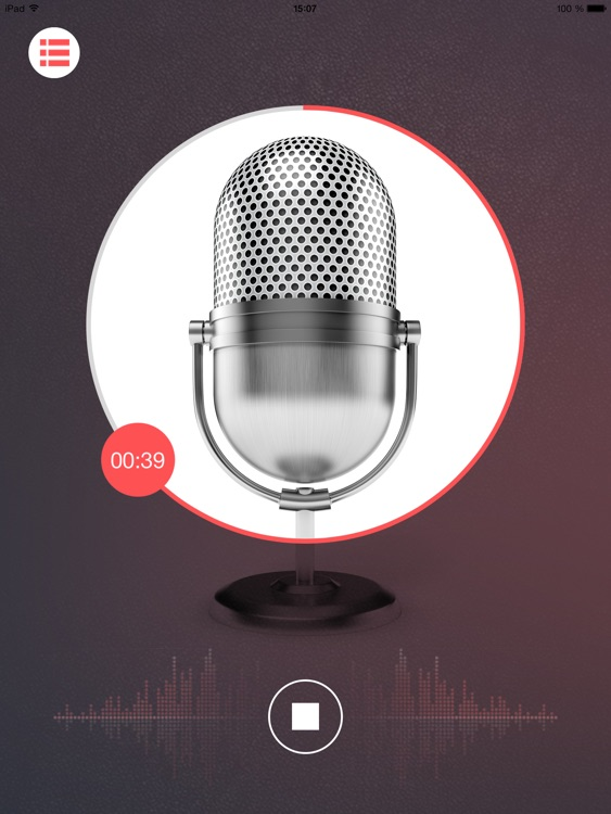 iRec App - audio recorder for VoIP phone call conversation recording, program for voice and sound recording screenshot-3