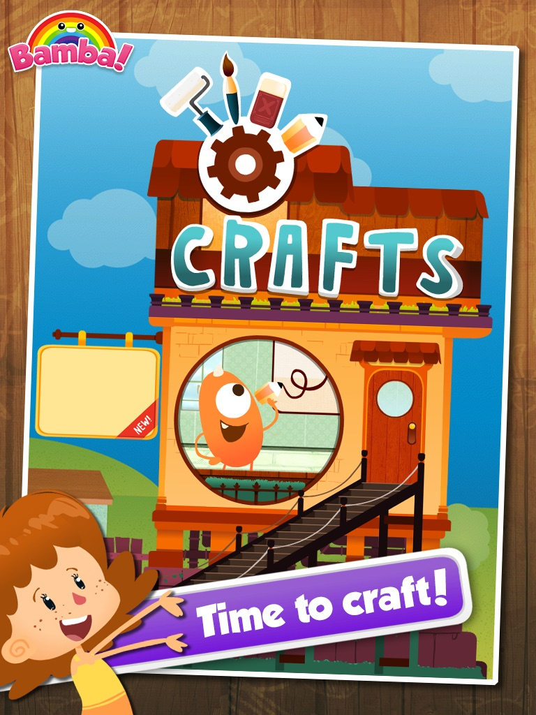 Bamba Craft – Kids draw, doodle, color and share their creations online Cheat Codes