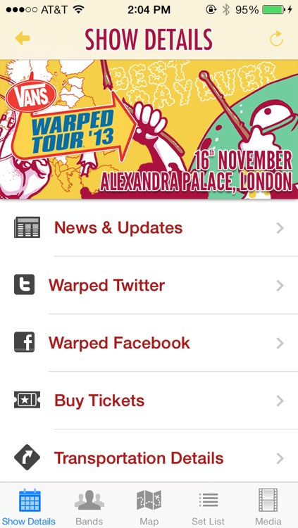 arped tour official app - 640×1136