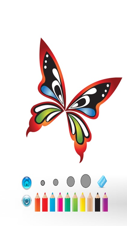 Coloring book for adults : Live Butterflies Paint My Wings Color Therapy
