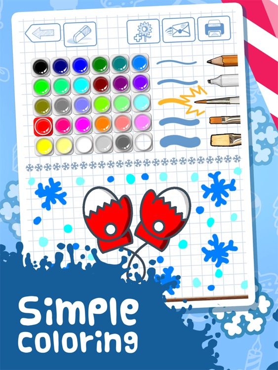Amaya Drawing for Kids: Holiday Gift. screenshot-3