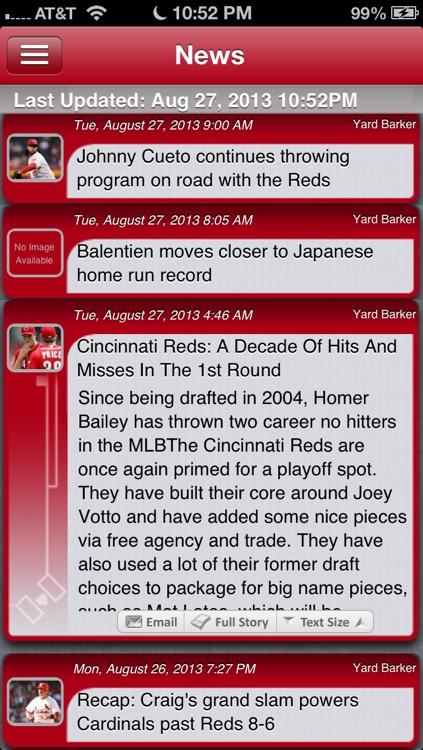 St. Louis Baseball Live screenshot-3