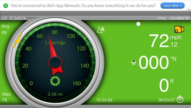 Gps Speedometer screenshot-3
