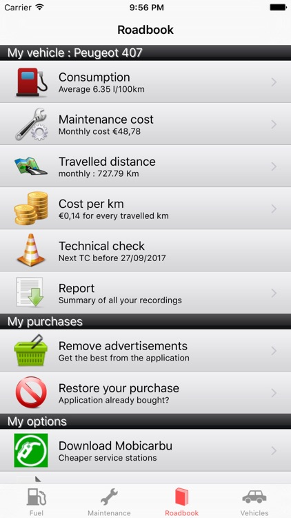 RoadService : Follow maintenance and fuel car-bike screenshot-0