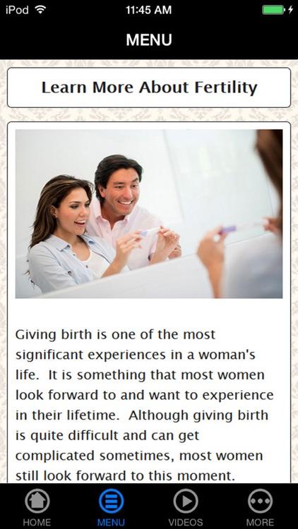 Get Best Fertility Information & Pregnant Fast
