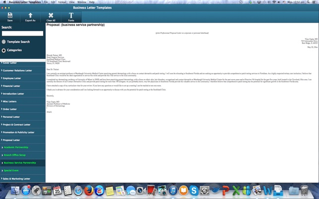 Business letter templates on the mac app store spiritdancerdesigns Choice Image