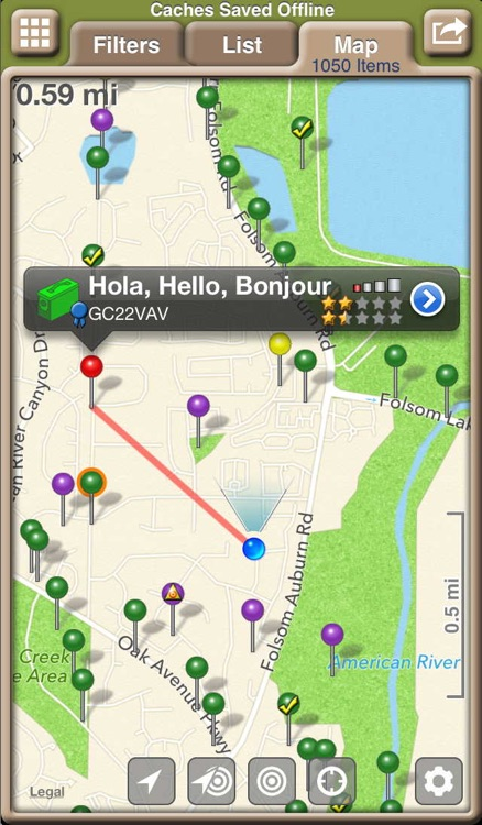 Geocaching with Geosphere screenshot-4