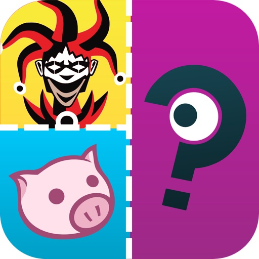 QuizCraze Characters - guess what's the hi color character in this mania logos quiz trivia game