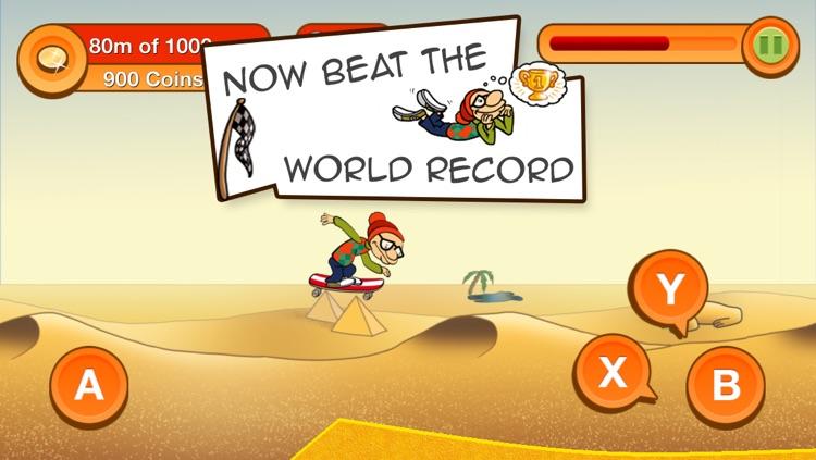 Skater Dave - Downhill Skating screenshot-4