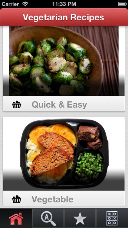 AllRecipes: Vegetarian