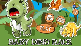 A Baby Dinosaur Race FREE - Run, Jump & Roar!のおすすめ画像1