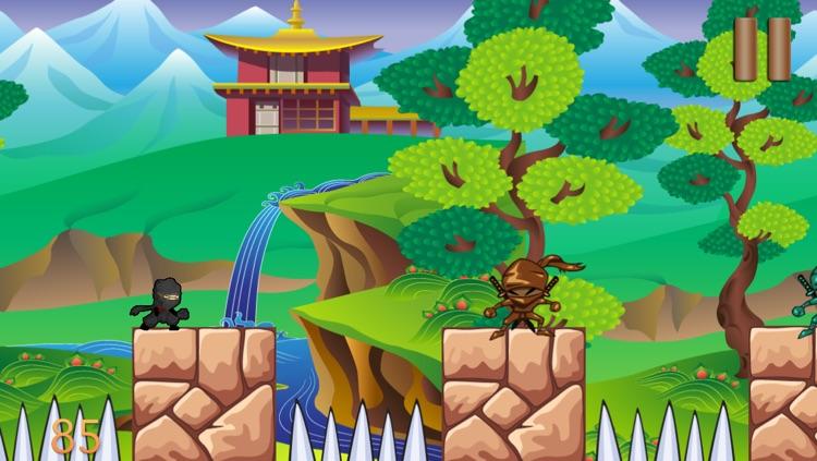 Ninja Shuriken Boy vs Samurai Block World Game