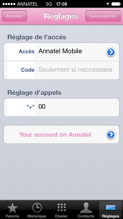 application annatel tv