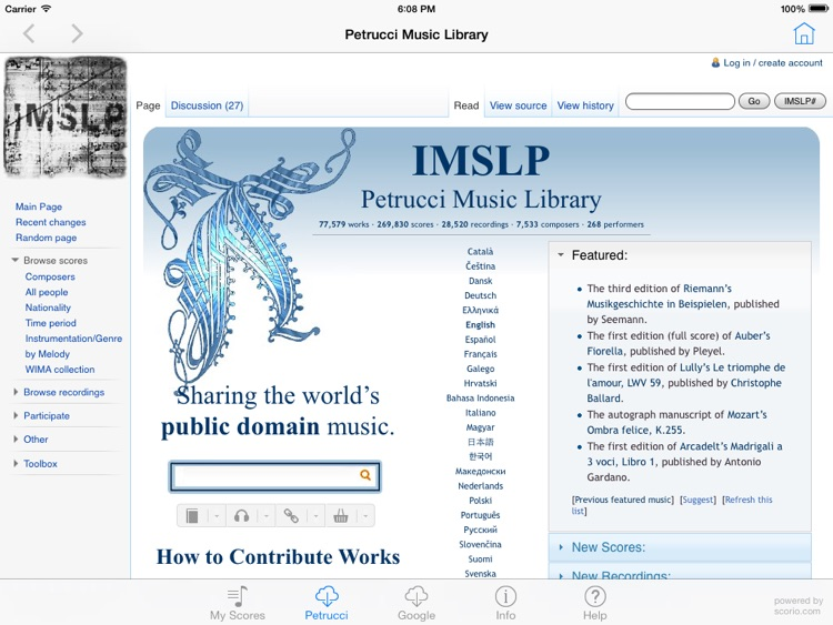 scorio Music Reader screenshot-1
